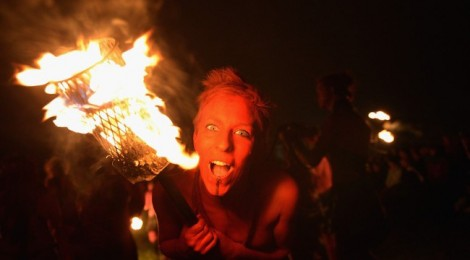 The Annual Beltane Fire Festival