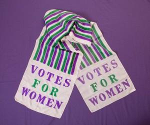 suffragette sash