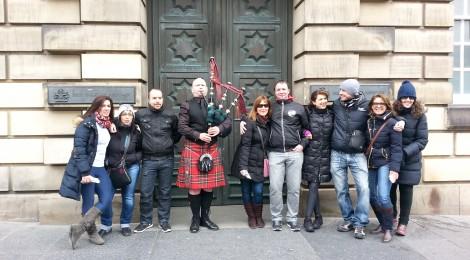 Foto tomada durante uno de nuestros tours en Edimburgo