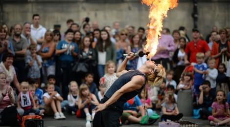 Edinburgh Fringe Festival en Edimburgo