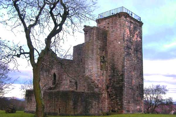 Castillo de Crookston en Glasgow, Escocia
