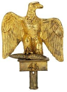 Águila imperial francesa robada por el soldado escocés Ensign Ewart