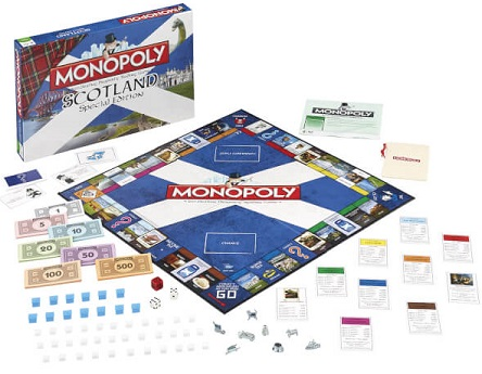 Monopoly edición Escocia