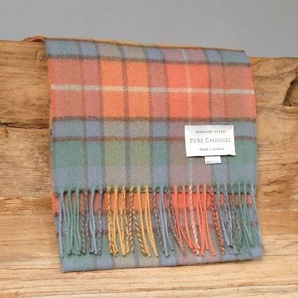 Bufanda de cachemira escocesa