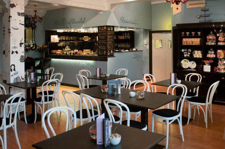 Interior de Mimi's Bakery en Edimburgo