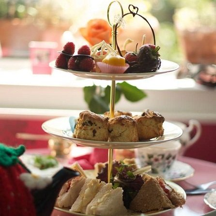 Afternoon Tea en el Bon Tea Room en Edimburgo