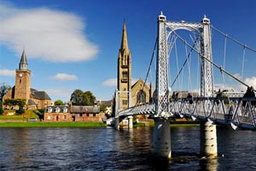 Inverness, capital de las Highlands