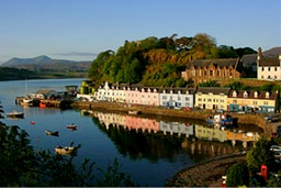 Portree, capital de Skye