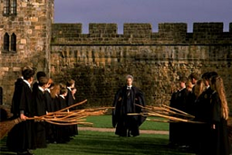 Harry Potter en Alnwick
