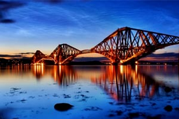 Forth Bridge y Fiordo de Forth