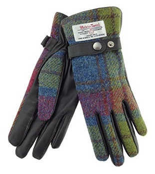 Guantes de Harris Tweed