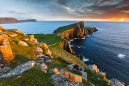Neist Point en Isla de Skye