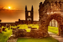 Impactante Catedral de St Andrews