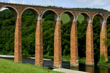Viaducto de Leaderfoot