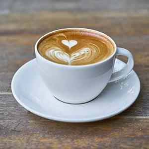 Café Flat White en Escocia